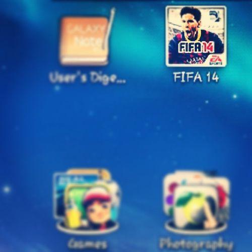 FIFA 14 is the shiiit! Craze Fifa14 Soccor Football 2014 best game ftw addiction ultimate team 20likes 30likes igers jj gameoftheyear