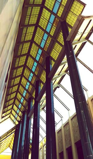 Looking Up Architecture Glass - Material Ceiling Modern Architectural Feature Lacma Lacmamuseum Los Angeles, California HTC One M9 Details