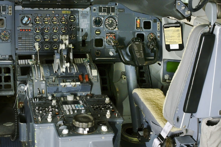 plane aircraft airplane cabin dashboard Plane Aerospace Industry Air Vehicle Aircraft Airplane Airplane Wing Cockpit Complexity Control Control Panel Equipment Indoors  Military Mode Of Transportation No People Public Transportation Technology Transportation Vehicle Interior
