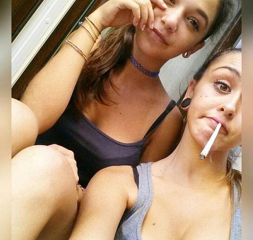 Photooftheday Talking Photos Cool Followme Italiangirl Smoke Weed Beautiful Day Twin Sister Italiangirls