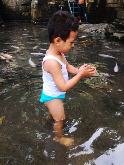 freshwater Fish Getty_image Eyeemphotography Water Child Childhood Full Length Boys Ankle Deep In Water Playing Wet Rippled Spraying