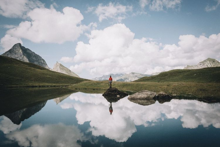 Up Is Down Mirror Alps Exploring Vscocam EyeEm Best Shots Nature Mountains Landscape Bavaria Market Bestsellers July 2016 Market Bestsellers August 2016 Bestsellers Fresh On Market 2018
