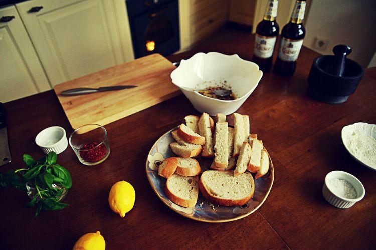 Food Photography Beer Time Food Blogger Foodlovers Croutons Lemons DSLR Photography Table Kitchen Stories