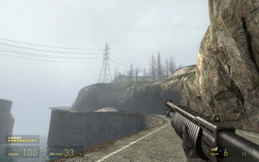 Transmission Line Tower Half-life2 Alone Far Far Away