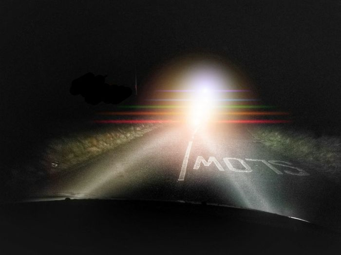Illuminated Light Beam No People Night Prism Colours Road Good Morning Road To Work