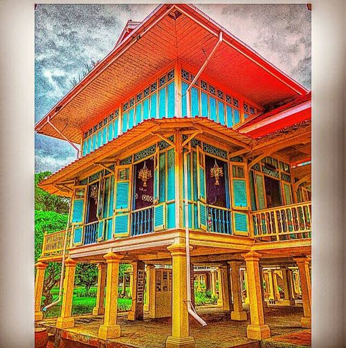 Good evening everyone 🏰Marukkhathayawan palace, is Thailand Architectural Application🏰 #huahin #thailand #travel #takenphotographybyme