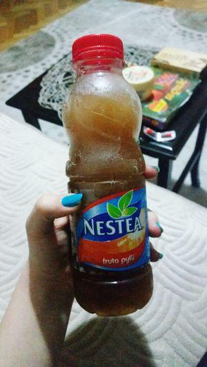 Soğuk çay koleksiyonumuza yeni çay eklendi Nestea Fruta Pylli 😍