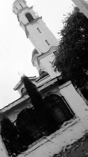 Rain Church Bosnia And Herzegovina Sky Tree Day Outdoors Cold Temperature Fall Photography Themes Amazing Morning City