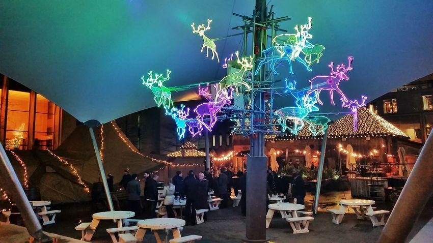 Manchester Spinningfields Christmas