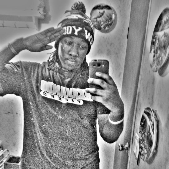 took this yesterday I think lol Real Nigga Salute Looking For Trouble Koolin It Kik Me
