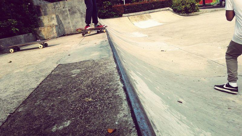 The Street Photographer - 2017 EyeEm Awards Skateboarding Outdoors Capture The Moment Real People Skatepark I Love My City INDONESIA Zenfone6