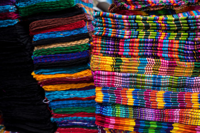 Chichicastenango Chichicastenango Market Scene Chichicastenango, Guatemala Guatemala Market Backgrounds Close-up Colorful Day Full Frame Indoors  Market Multi Colored No People Pattern Retail  Store Textile Textile Industry Variation Wool