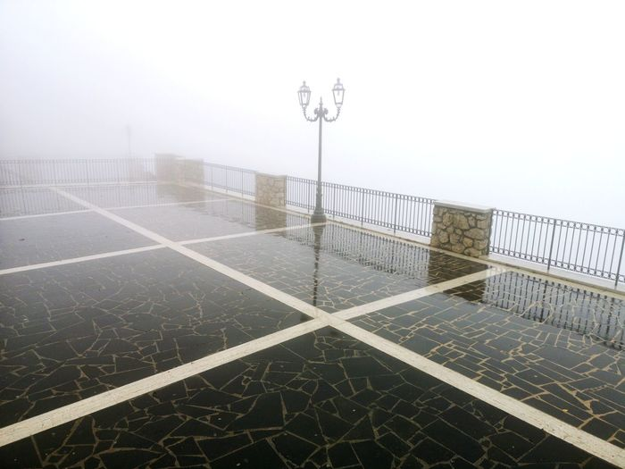 Fog Weathet Clouds Geometry Promenade Travel Rain Weather Umbrella Sport Sky Rainy Season