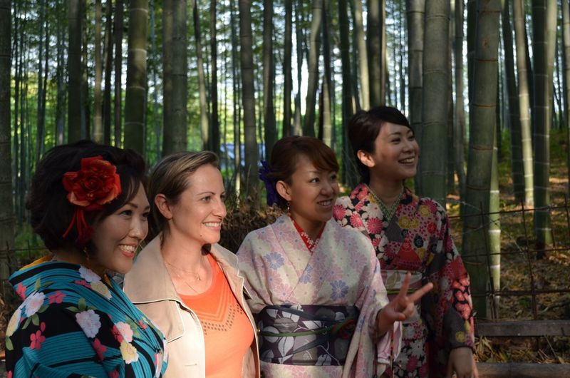 Japan Kioto Bamboo Forest Bamboo Geisha Traditional Costume EyeEm Best Shots Holiday