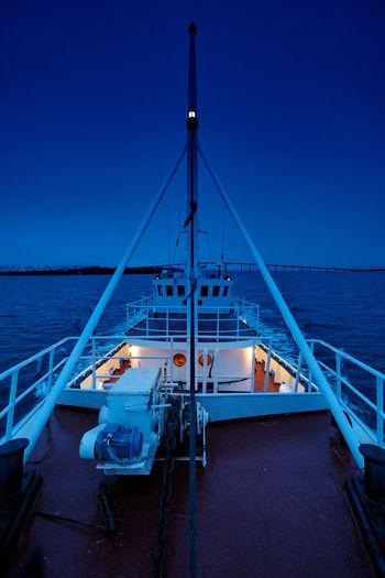 Blue hour Sea