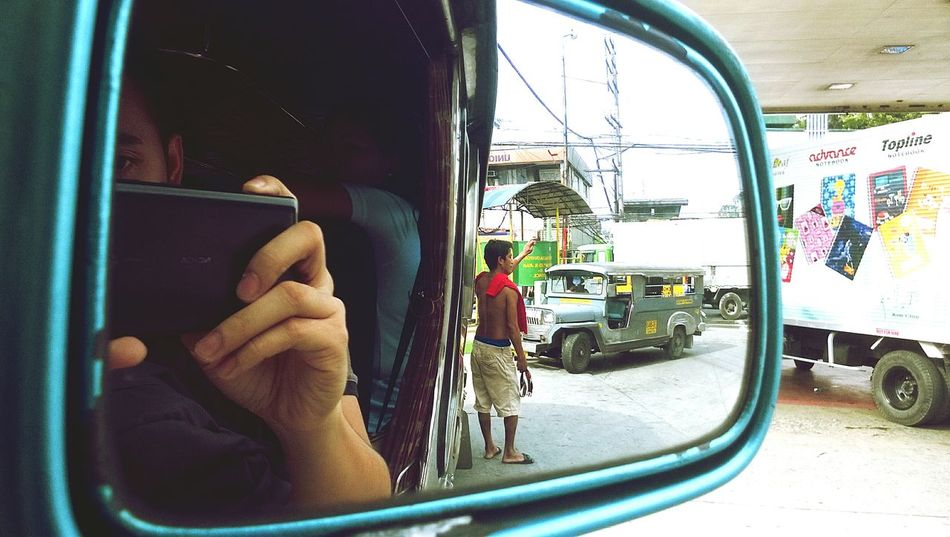 My commute going home. Streetphotography Jeepney Manila Philippines