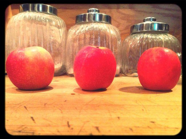 Good morning brekky Morning Apples Pink Lady Breakfast