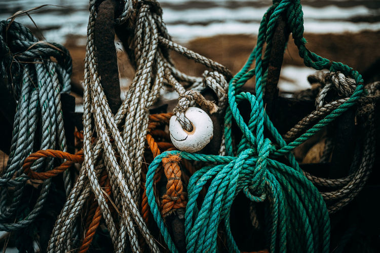 Chilly day in Yngsjö. EyeEm Best Shots The Week on EyeEm Cleat Close-up Day Durability Harbor Moored Nautical Equipment Nautical Vessel No People Outdoors Rope Strength Thick Tied Knot Tied Up