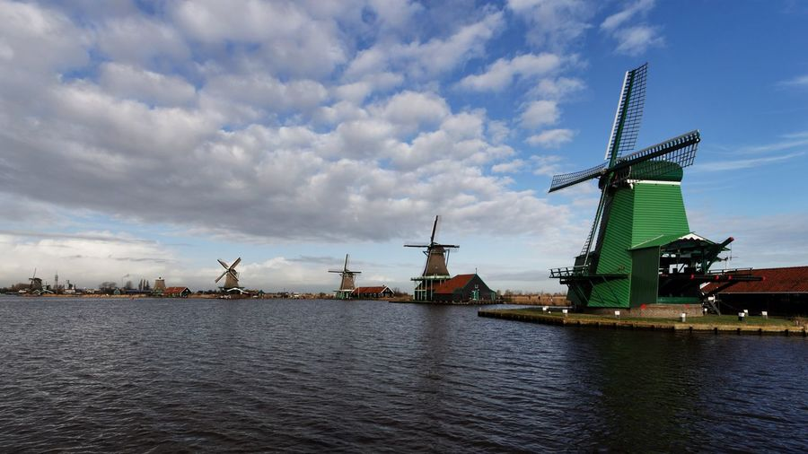 OH NO! Not Another Windmill Scenery ! Clouds And Sky Dutch Landscape Being A Tourist Today's Hot Look Living On The Edge