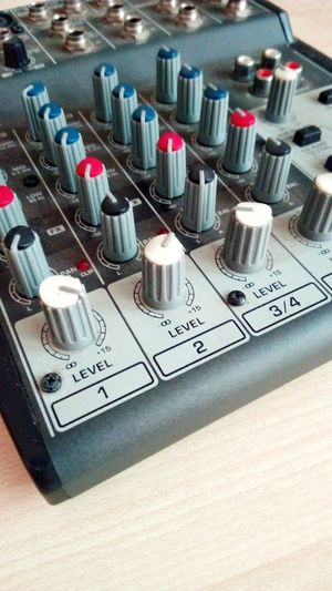 Audio mixer Music Indoors  Arts Culture And Entertainment No People Technology Close-up Recording Studio Day audio mixer studio Audiomixer