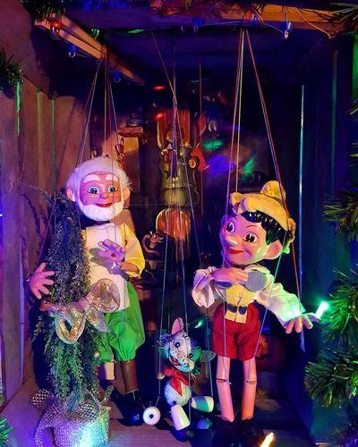 """Pinocchio"" Seventies Puppet Marionette Geppetto Pinocchio Cat Theatre Pelham Puppets Uk Cute Toys Box Belanglose Bilder Unaffected Images"