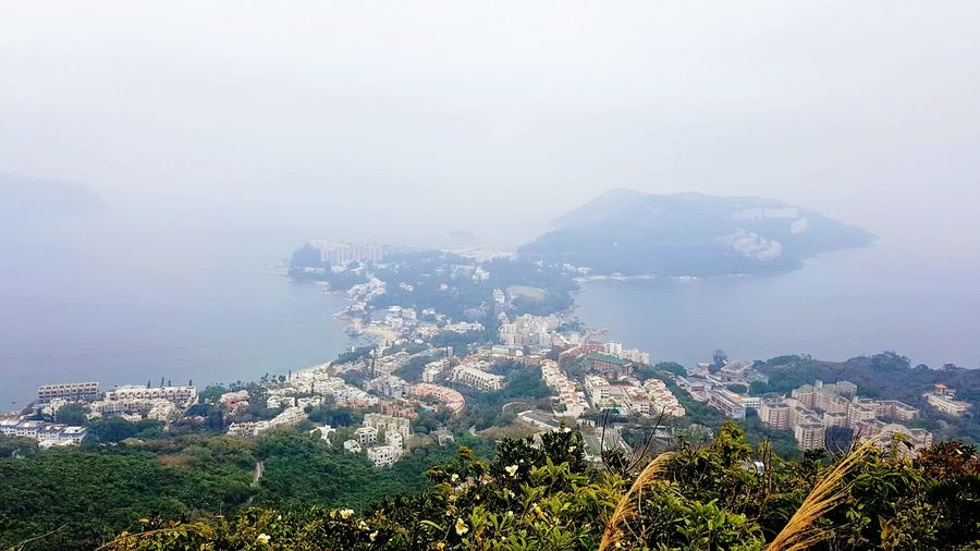 Stanley bay Sea Mountain No People Water Travel Destinations Architecture Outdoors Scenics Urban Skyline Beach Nature Cityscape Sky Fog Hong Kong Stanley Hong-Kong Hiking Trail Hiking Adventures Hong Kong Skyline