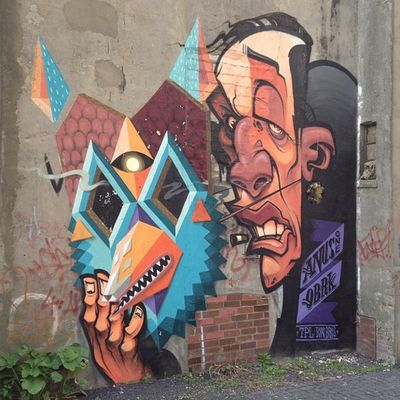 #kommindiegänge #gängeviertel #hamburg #streetart Streetart Hamburg Gängeviertel Kommindiegänge