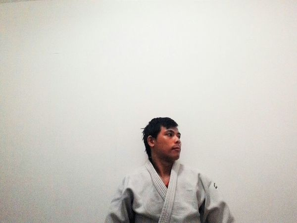 Judoka Self Portrait Around The World People Photography EyeEm Portraits Eyeem People + Portrait Eyeem Philippines Mobilephotography Judo Judoka Learn & Shoot: Simplicity