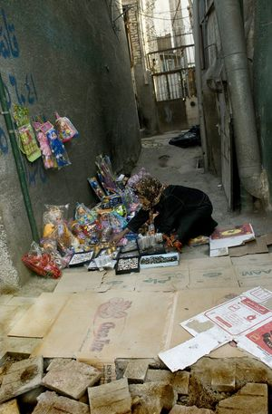 Woman Sellar Poor  Corner Shop Poverty Middle East Traveling Money Street Eyemstreetphoto Simple
