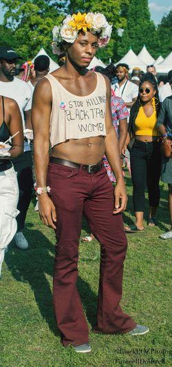 The Week On EyeEm Afropunkbrooklyn Afropunkfest Afropunk Nikon D7100 Nikon TimmellDontrell Real People Team Nikon Young Adult EyeEm Selects BlackPOZPhotog Young Men Transgender Transgenderpride Stopkillingtranswomen Translivesmatter