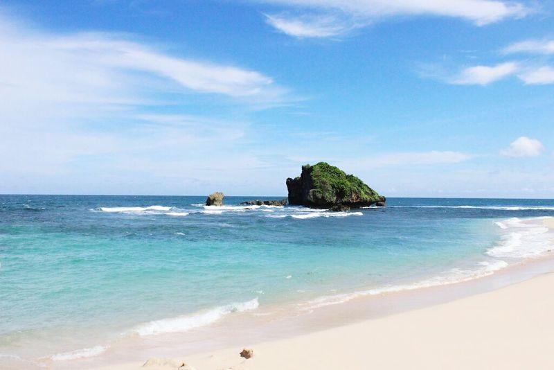 Jogjakarta Indonesia Beach INDONESIA EyeEmNewHere Beach Island Shore
