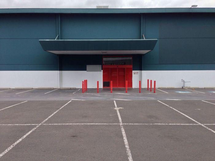 Empty warehouse.