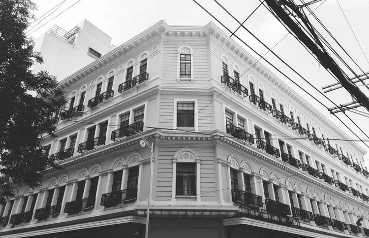 Architecture Balcony Black & White Black And White Black And White Photography Black&white Blackandwhite Blackandwhite Photography Building Exterior Built Structure City Day Low Angle View No People Outdoors Window The Architect - 2017 EyeEm Awards
