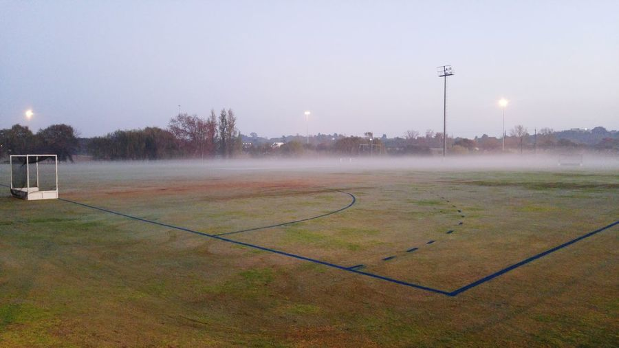 Hockey Field Hockey Outdoor Photography Wintertime Early Morning Outdoors South Africa Early Morning Walk... Just Before Sunrise Misty Mornings Misty Morning Fresh Air...