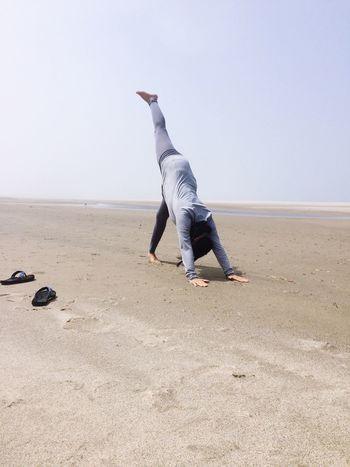Yoga Beach Namaste...