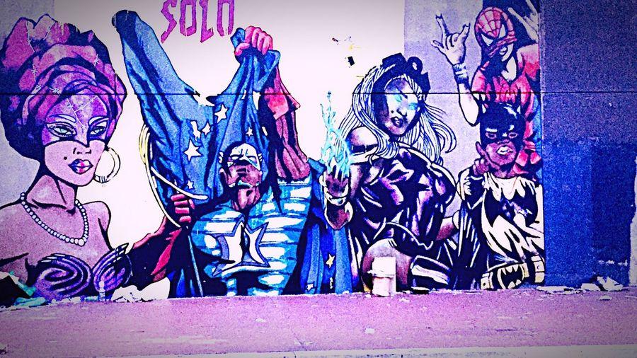 Streetart Streetart/graffiti