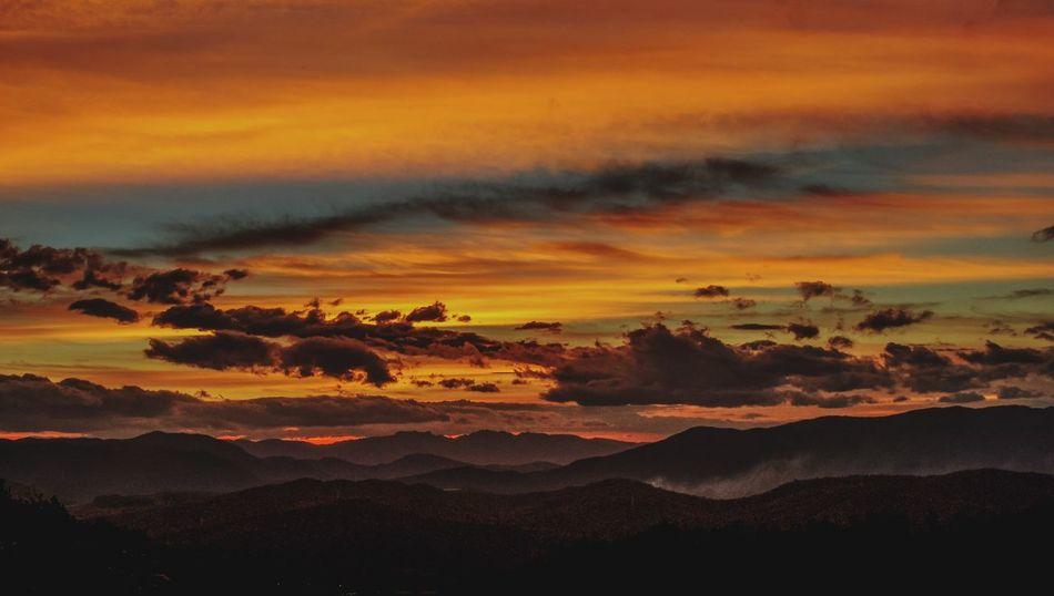 長蟲山 Sunset Beauty In Nature Dramatic Sky Cloud - Sky