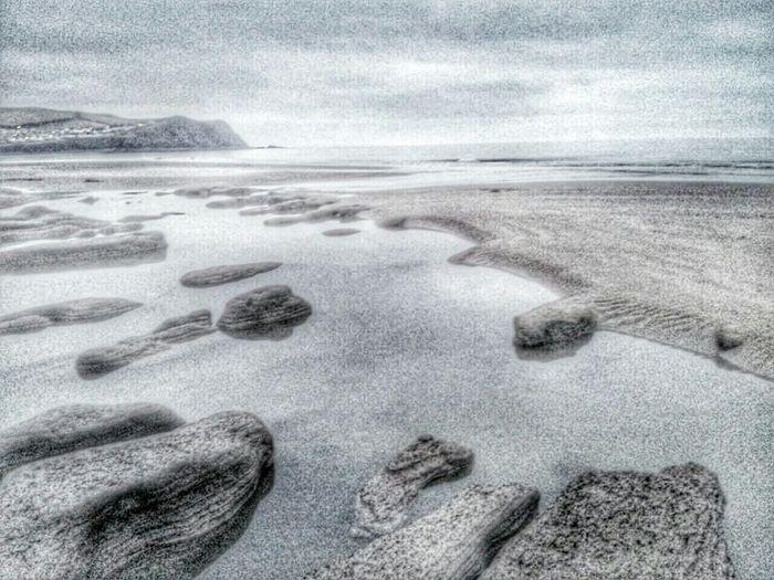 Borth Beachphotography Light And Shadow Sand & Sea Sea And Sky Seascape Samsung Galaxy Camera Enjoying Life Snapseed Editing  Tidepools
