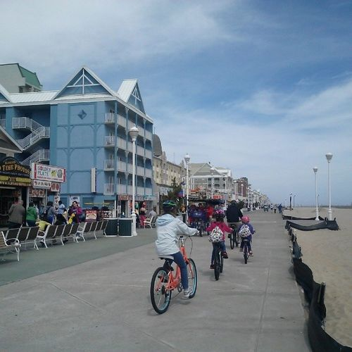 Monday, April 14th, 2014, looks like a great day for a family ride on the Boards... Ocmd