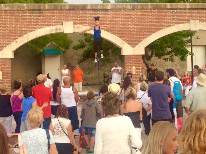 Mallory Square performer Keywest Sunsetcelebration Florida Florida Keys Unicycle Travel Conchfused