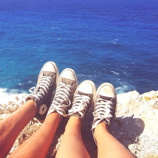 Two Is Better Than One Cala Mesquida Wanderlust Hiking Balearic Islands