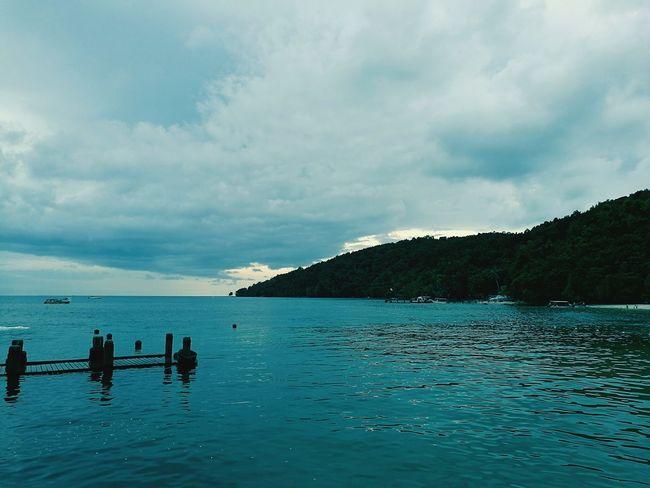 Manukan Island, Sabah Sea Outdoors Water Beach Mountain Sky Beauty In Nature Day