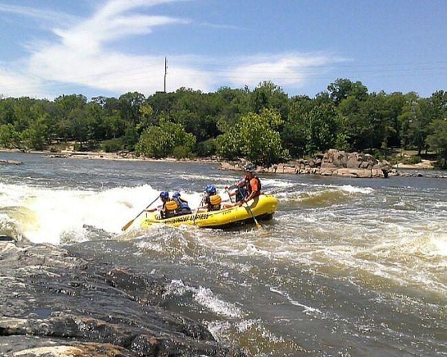Rafting Whitewater Fun Water Dip Columbus, GaChattahoochee River On The Hooch Adrenaline Junkie
