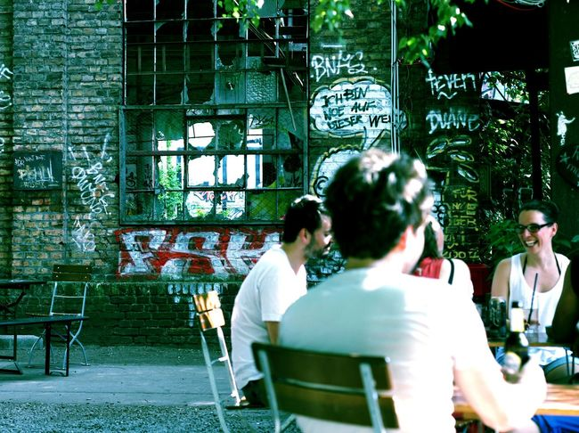 Street Life Impressions Filter At Caffe