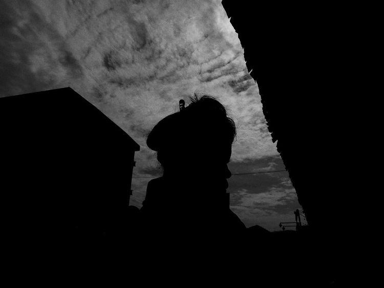 Silhouette Women Silhouette Public Places Streetphotography Street Cloud - Sky Outdoors People Indonesian Street Photography INDONESIA Street Photography EyeEm Indonesia EyeEm Best Shots - The Streets Maklumfoto The Week On Eyem The Week Of Eyeem EyeEm The Streets Benproject