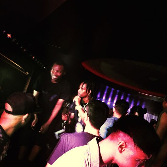 The Fan Club : Travisscott Concert Fashionweek Paris Party