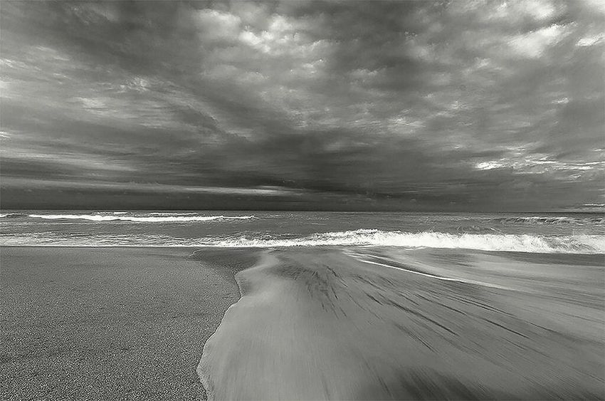 Sea Water Beach Sand Nature Beauty In Nature Horizon Over Water Scenics Travel Destinations Day No People Landscape Sky Landscape_photography Black And White Black & White Monochrome MonochromePhotography