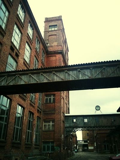 Architecture Old Buildings Red Brick Beauty Of Decay