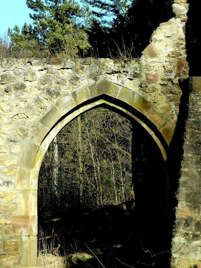 Arch Day Architecture Built Structure Outdoors No People Tree Sky Close-up Rural Scene Ruins Castle Ruin Scenics Landscape Stone Material Stone Field Stone EyeEm Best Shots EyeEm Best Shots - Nature Culture And Tradition Architecture Architecturelovers Architectural Detail Gate Arched