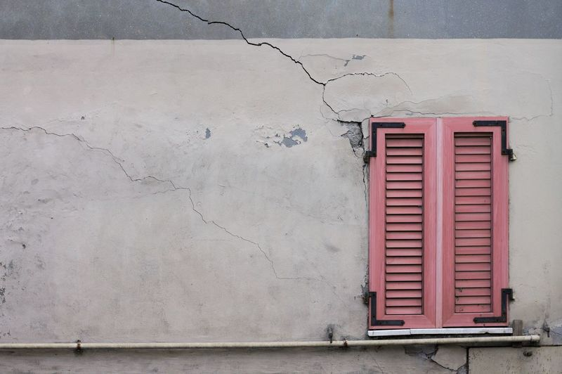 Ruined Architecture in Pesaro Architecture Copy Space EyeEmNewHere Nature Pink Postcode Postcards The Week On EyeEm Wall Arch Outdoor Photography Outdoors Pink Color Ruin Street Street Photography Streetphotography Window